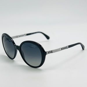 New Black Polarized CHANEL Sunglasses 5353